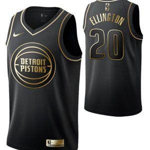 Detroit Pistons #20Wayne Ellington Swingman Jersey